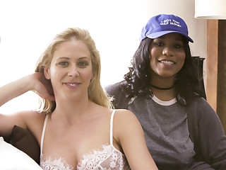 Cherie DeVille Abella Danger Jenna Foxx Tyler Knight yon BTS - Interracial Family Needs #02 - SweetSinner