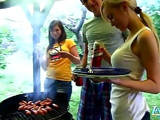 4th Of July BBQ Winebibber Teen Best Public limited company Orgy Fuck Fest - WWW.FAPLIX.COM