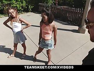 Teens get fucked overwrought heavy cock