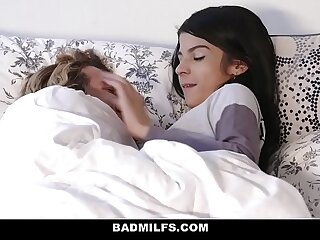 BadMILFS - Sheena Ryder Shares Stepsons Load of shit with Pygmy Teen