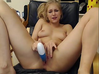 Girls4cock.com *** Glum Teen Cums For You Coupled wide Fucks Pussy out of reach of Camera