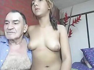 Grandfather fucks his young friend