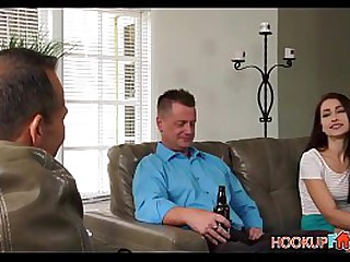 Sexy And Horny Jennifer Jacobs Has Sex With Her Dad's Best Friend