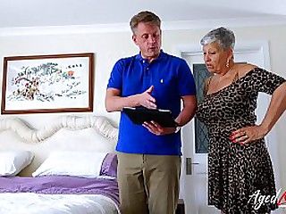 Best hardcore fuck with famous mature porn stars